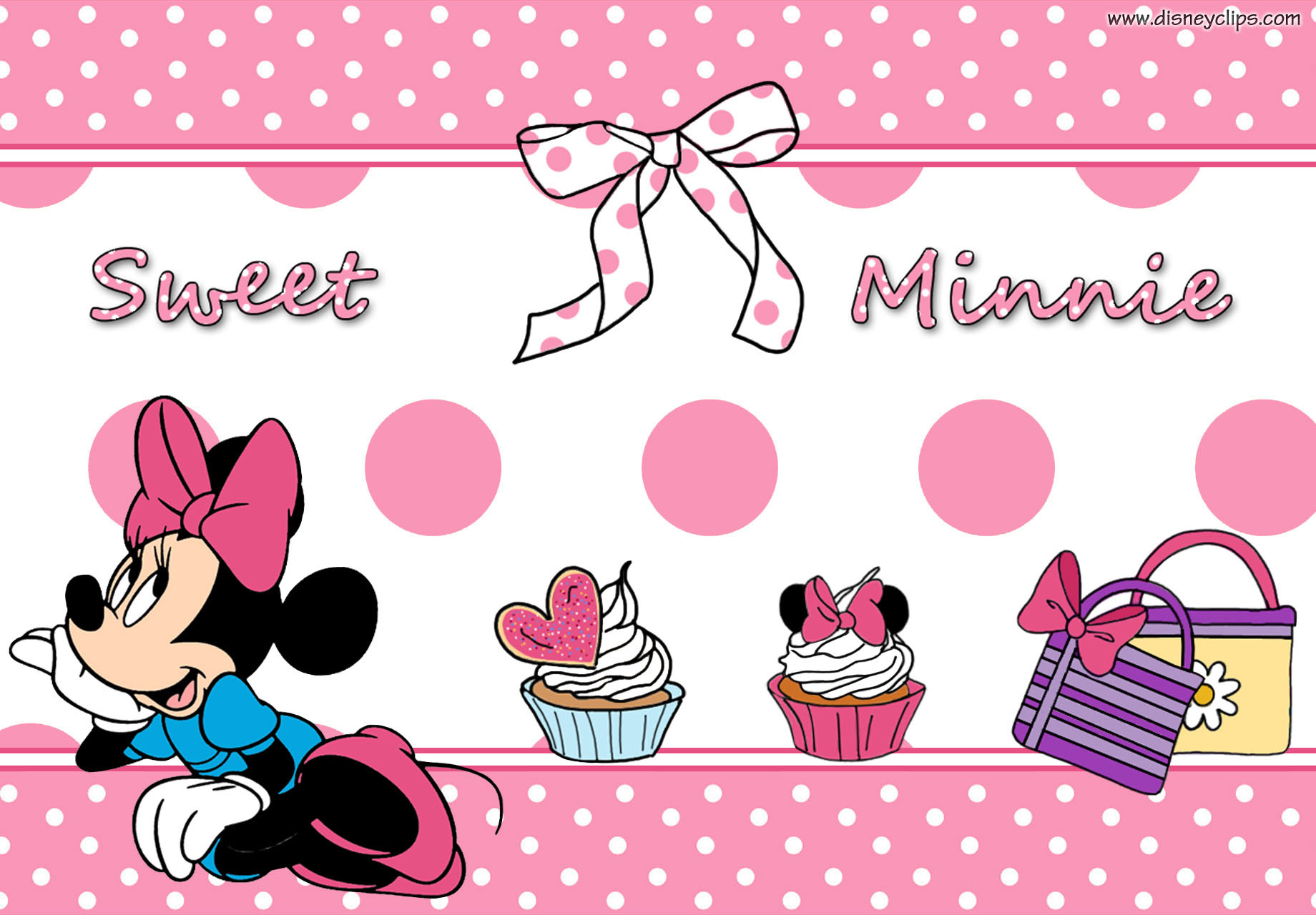 Wallpaper Minnie Mouse