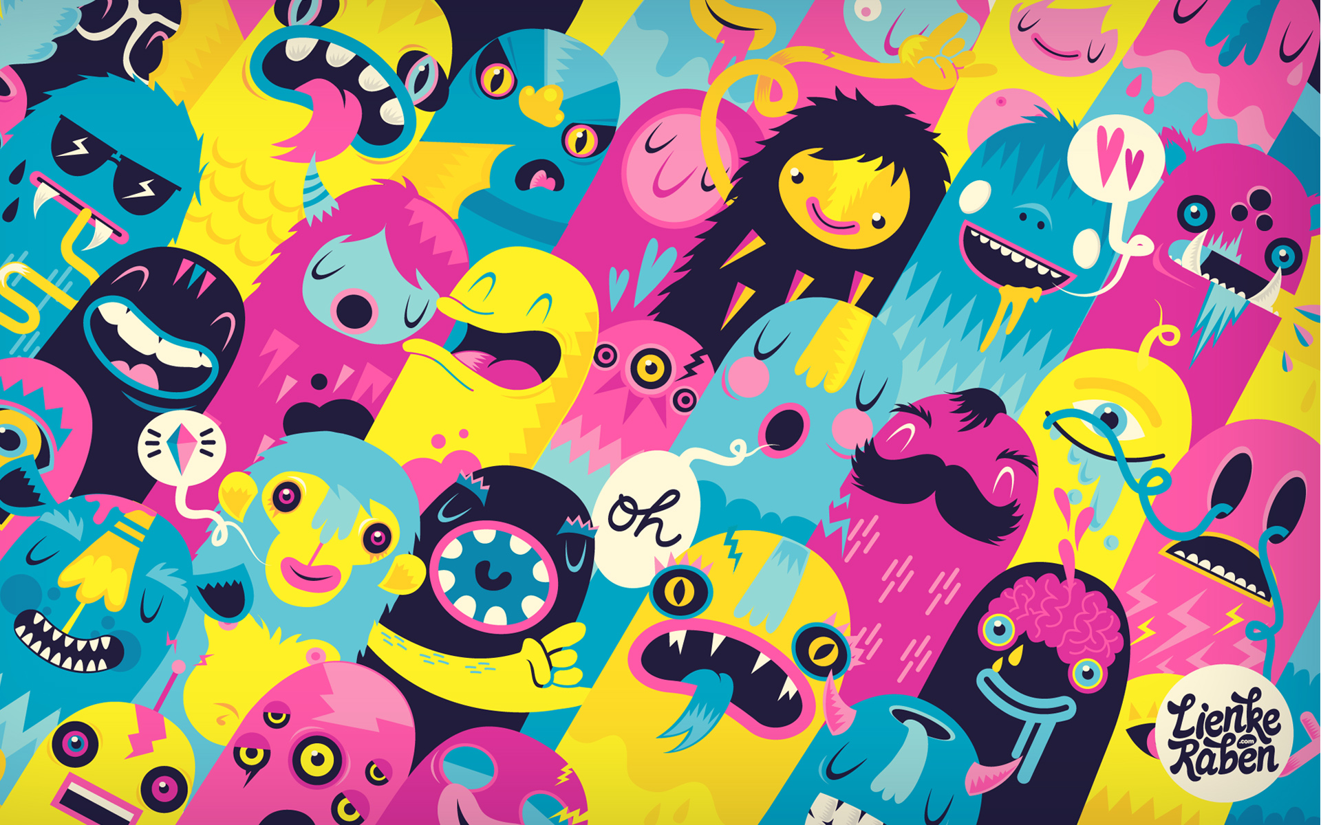 Wallpaper Monsters