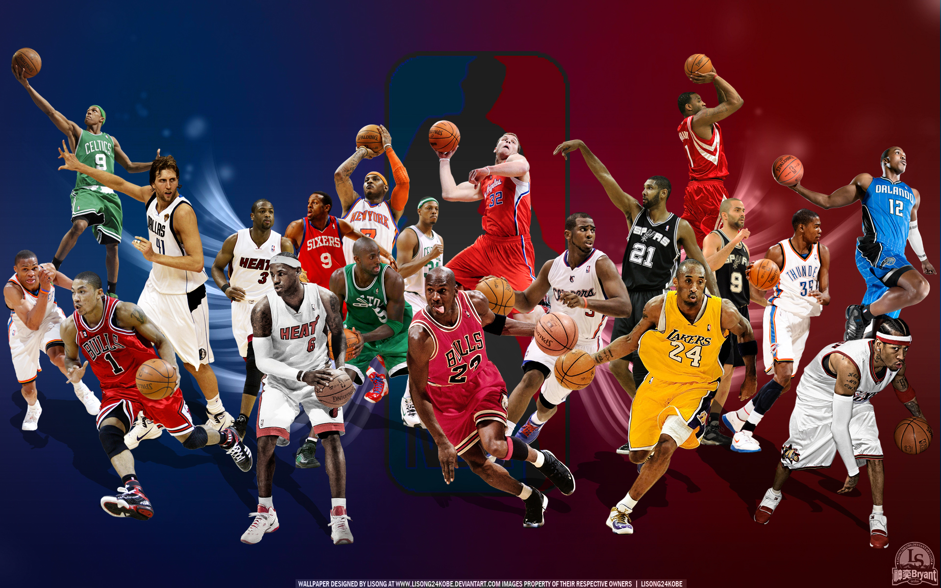 Wallpaper NBA All Star