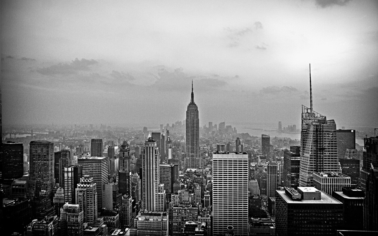 Balck And White Wallpaper: Download Wallpaper New York Black And White Gallery