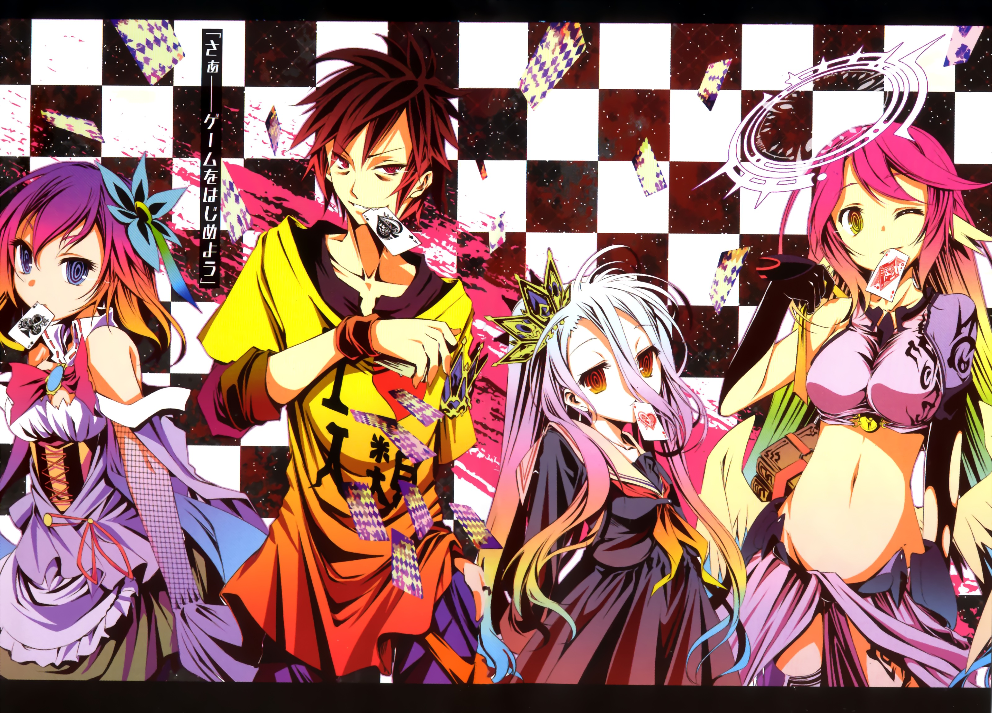 Wallpaper No Game No Life