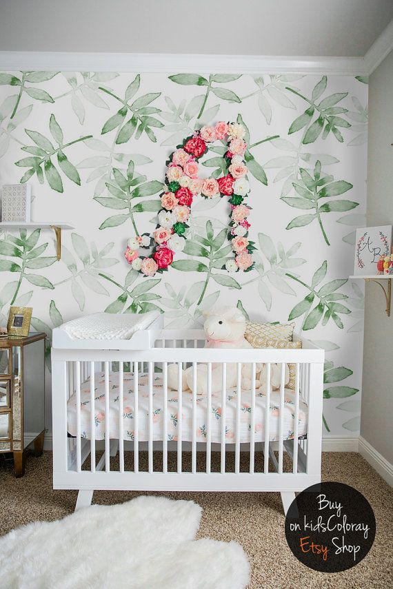 Download wallpaper nursery ideas gallery for Baby room decoration wallpaper