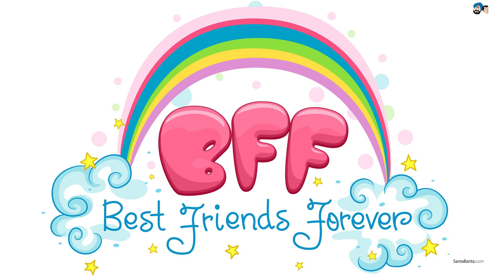 Wallpaper Of Best Friend Forever