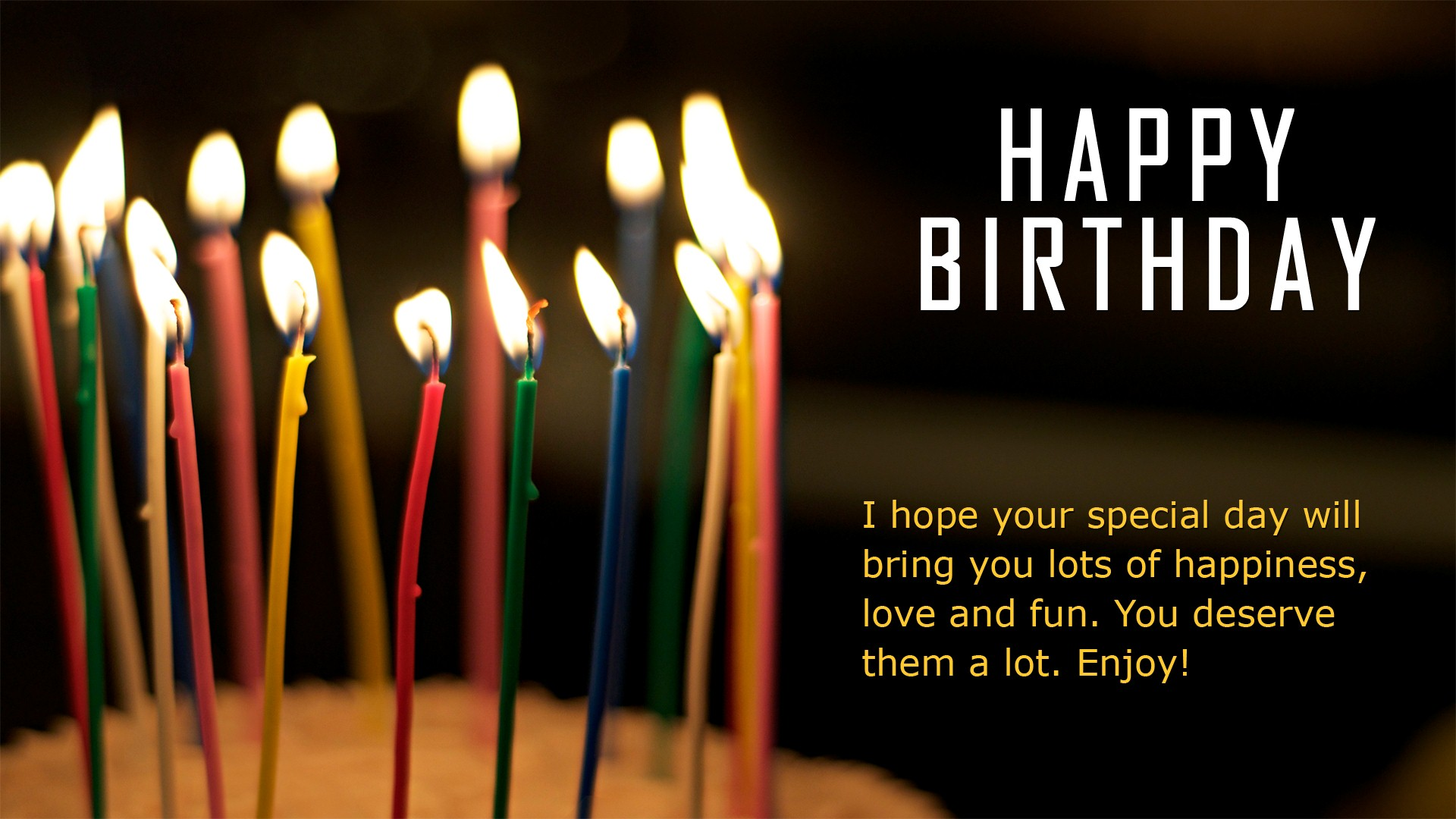 Wallpaper Of Birthday Wishes