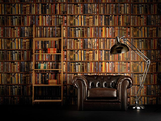 Wallpaper Of Books Library