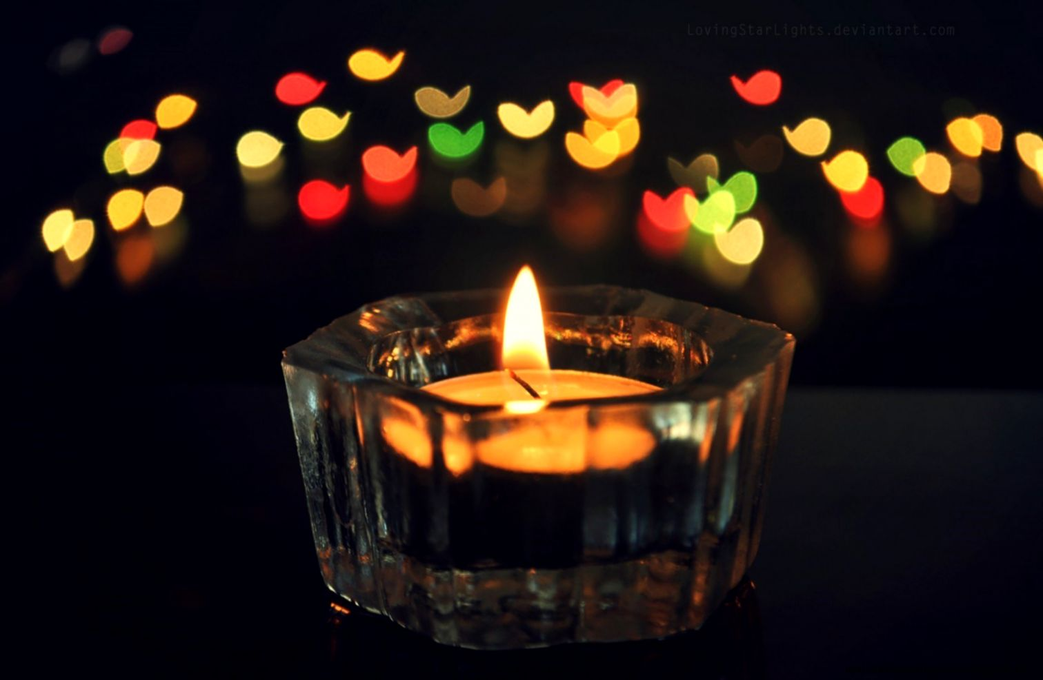 Wallpaper Of Candle Light