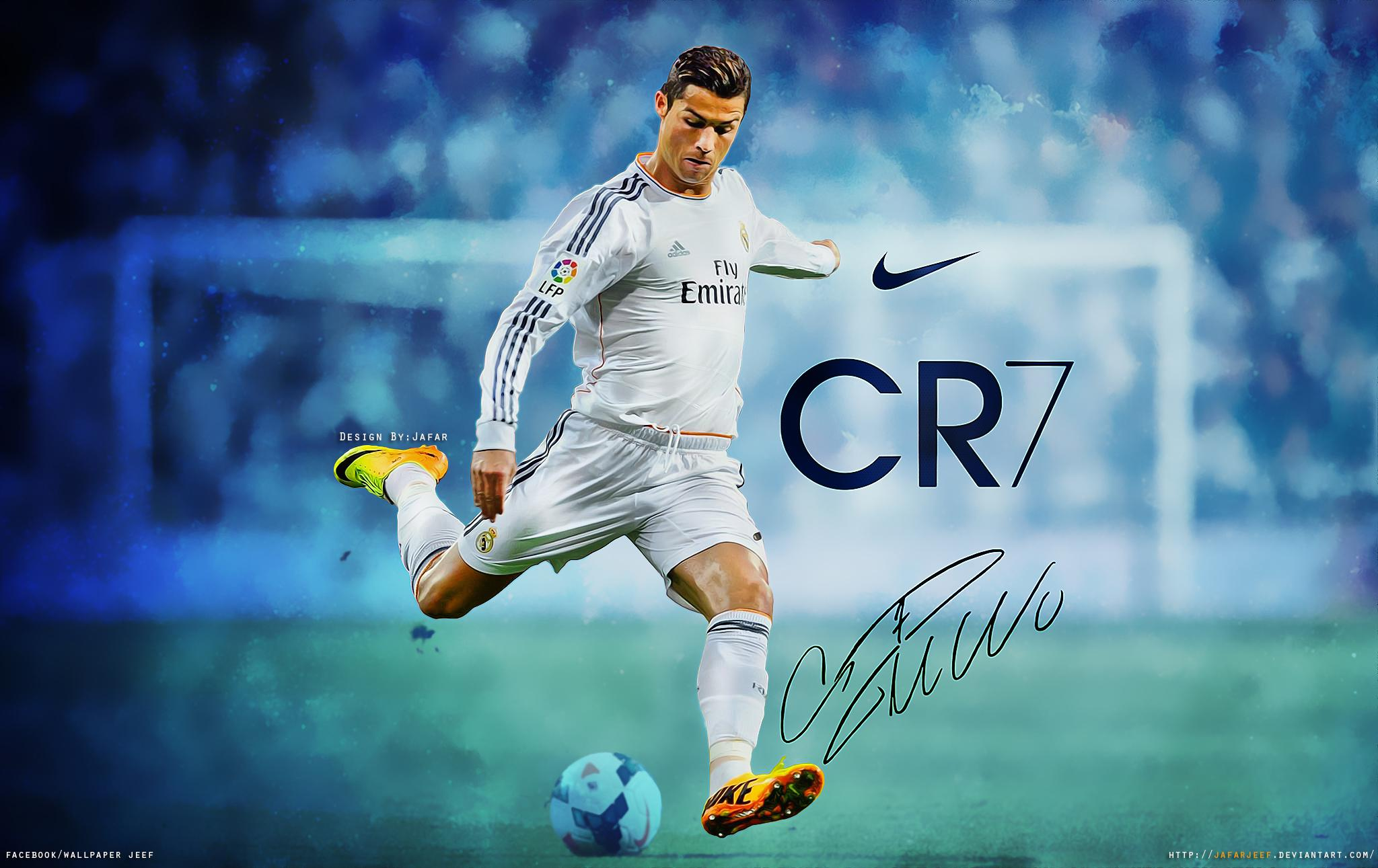 Wallpaper Of Christiano Ronaldo