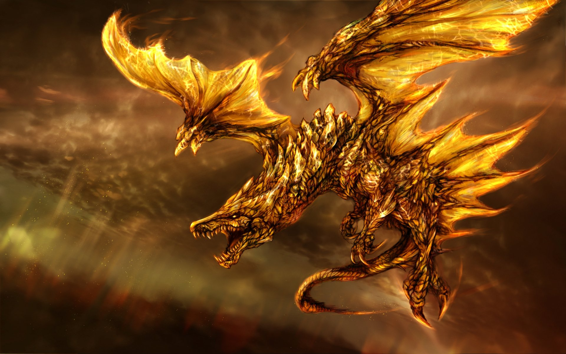 Wallpaper Of Dragons