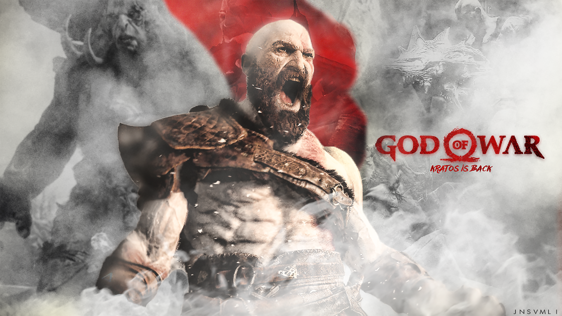 Wallpaper Of God Of War 4