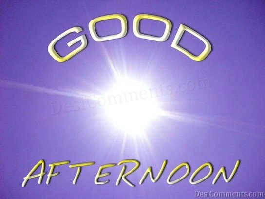 Wallpaper Of Good Afternoon