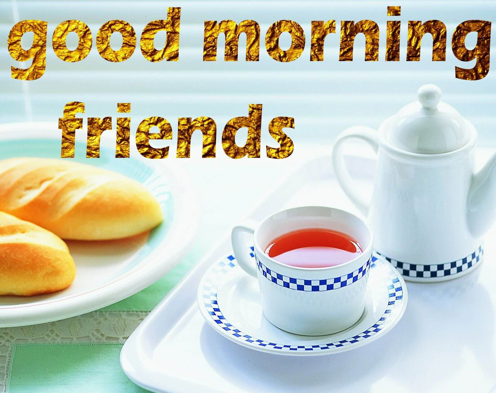 Wallpaper Of Good Morning Friends