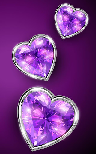 Wallpaper Of Hearts And Diamonds