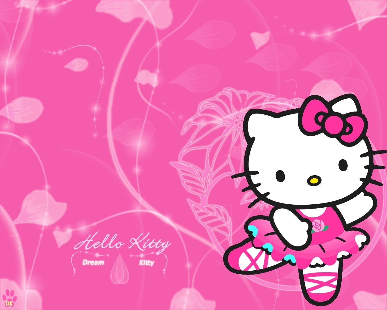 Wallpaper Of Hello Kitty