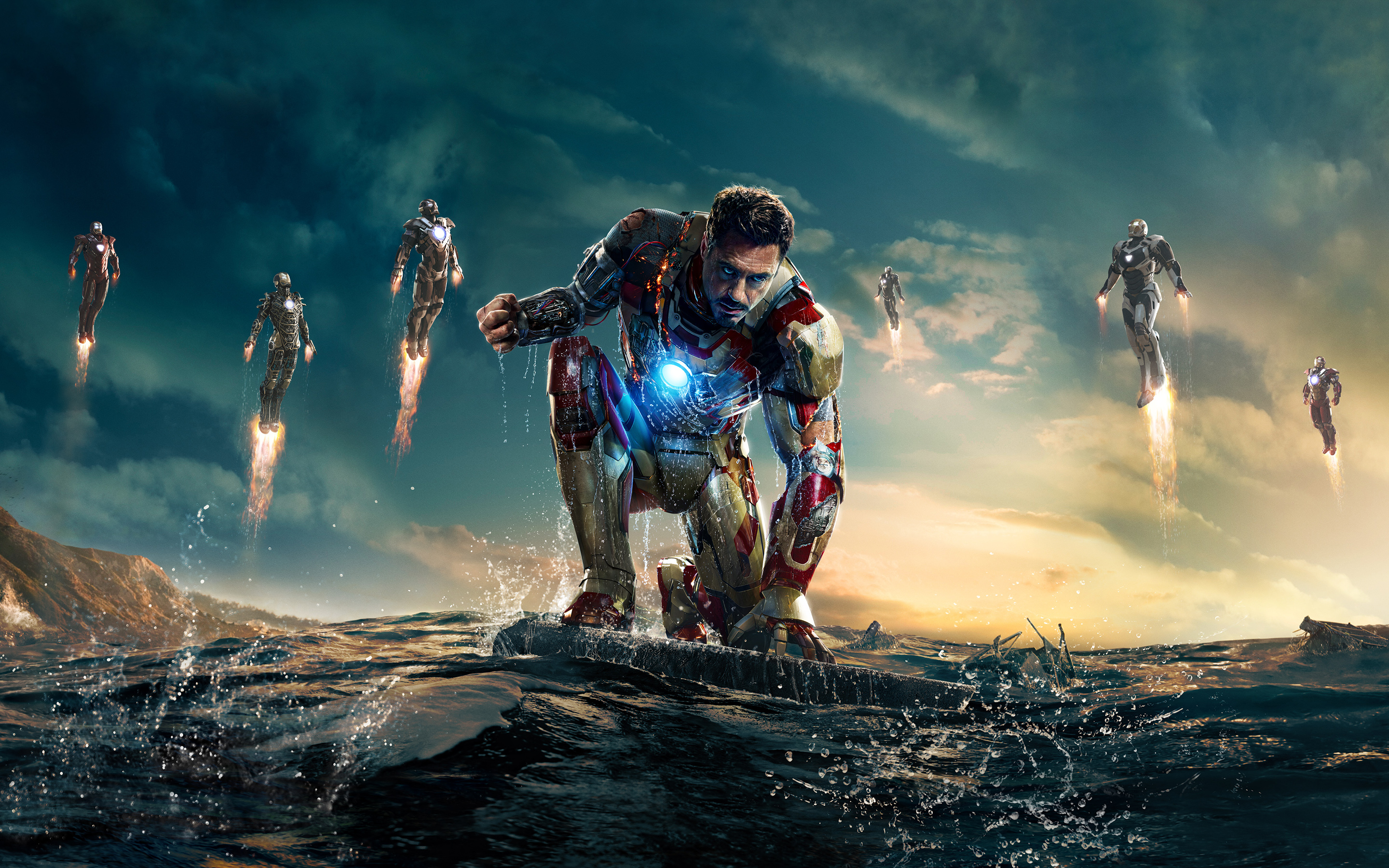 Wallpaper Of Iron Man 3