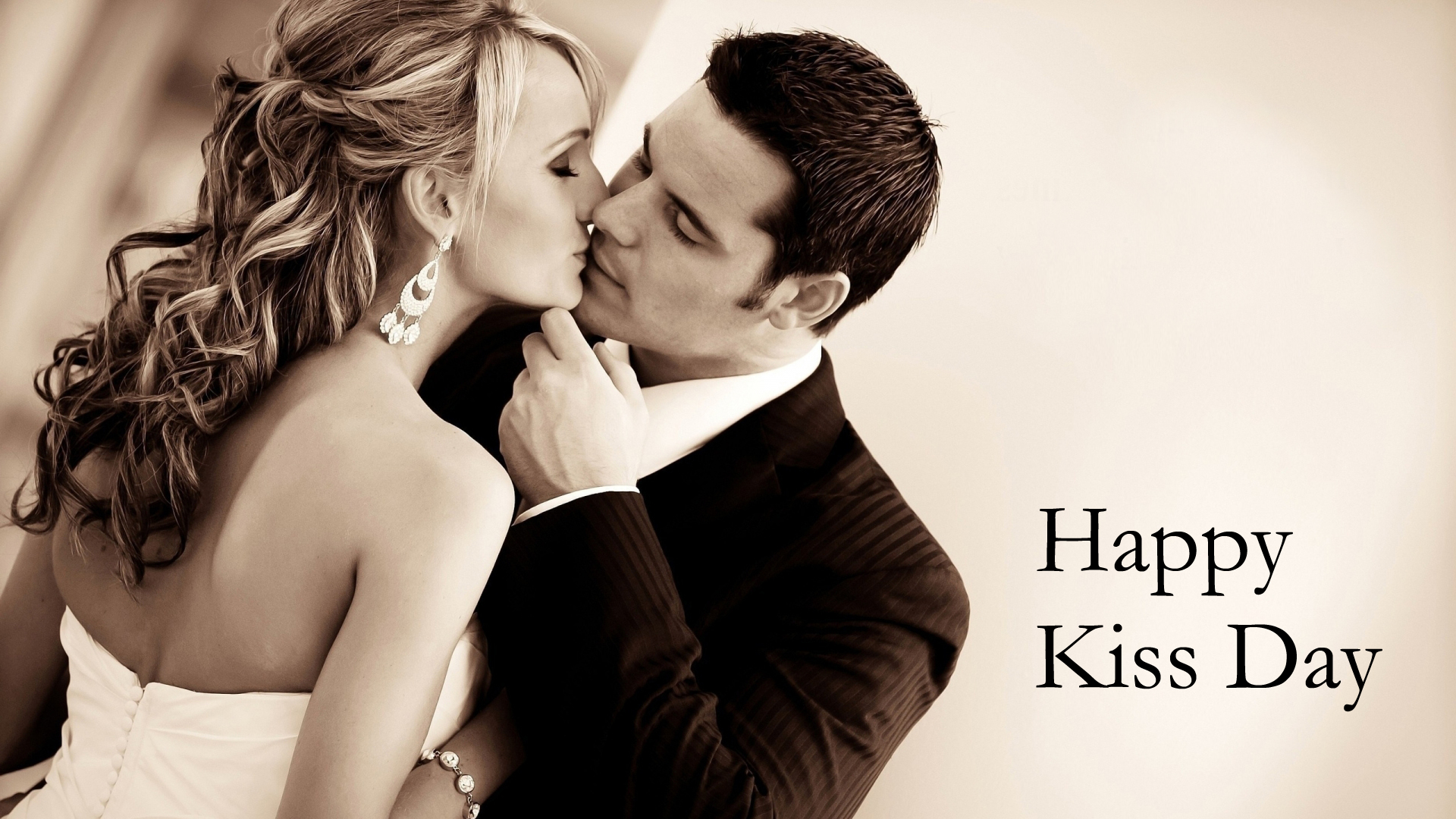 Wallpaper Of Kiss Day