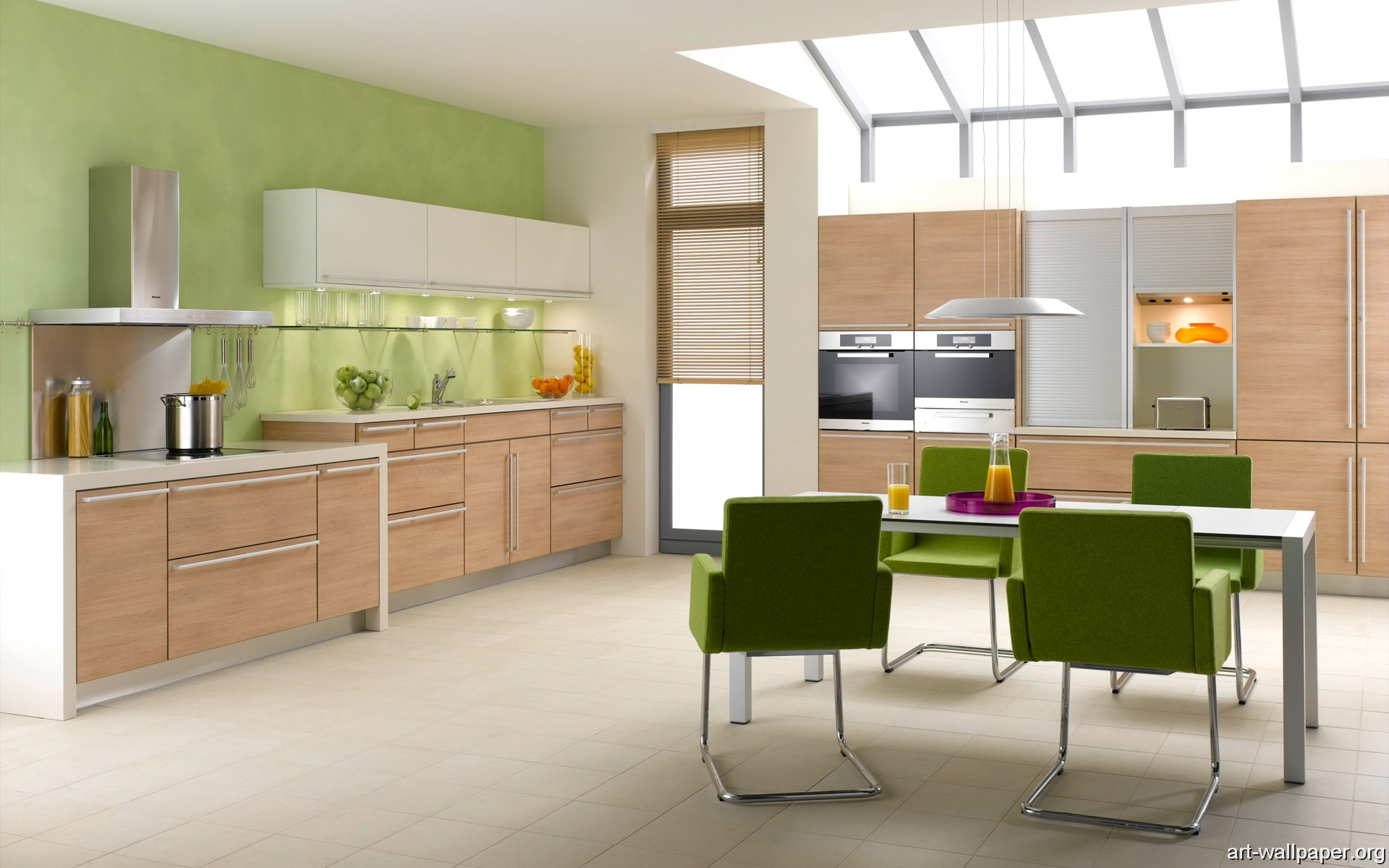 Wallpaper Of Kitchen