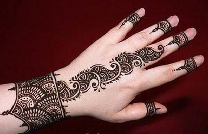 Wallpaper Of Mehndi Design