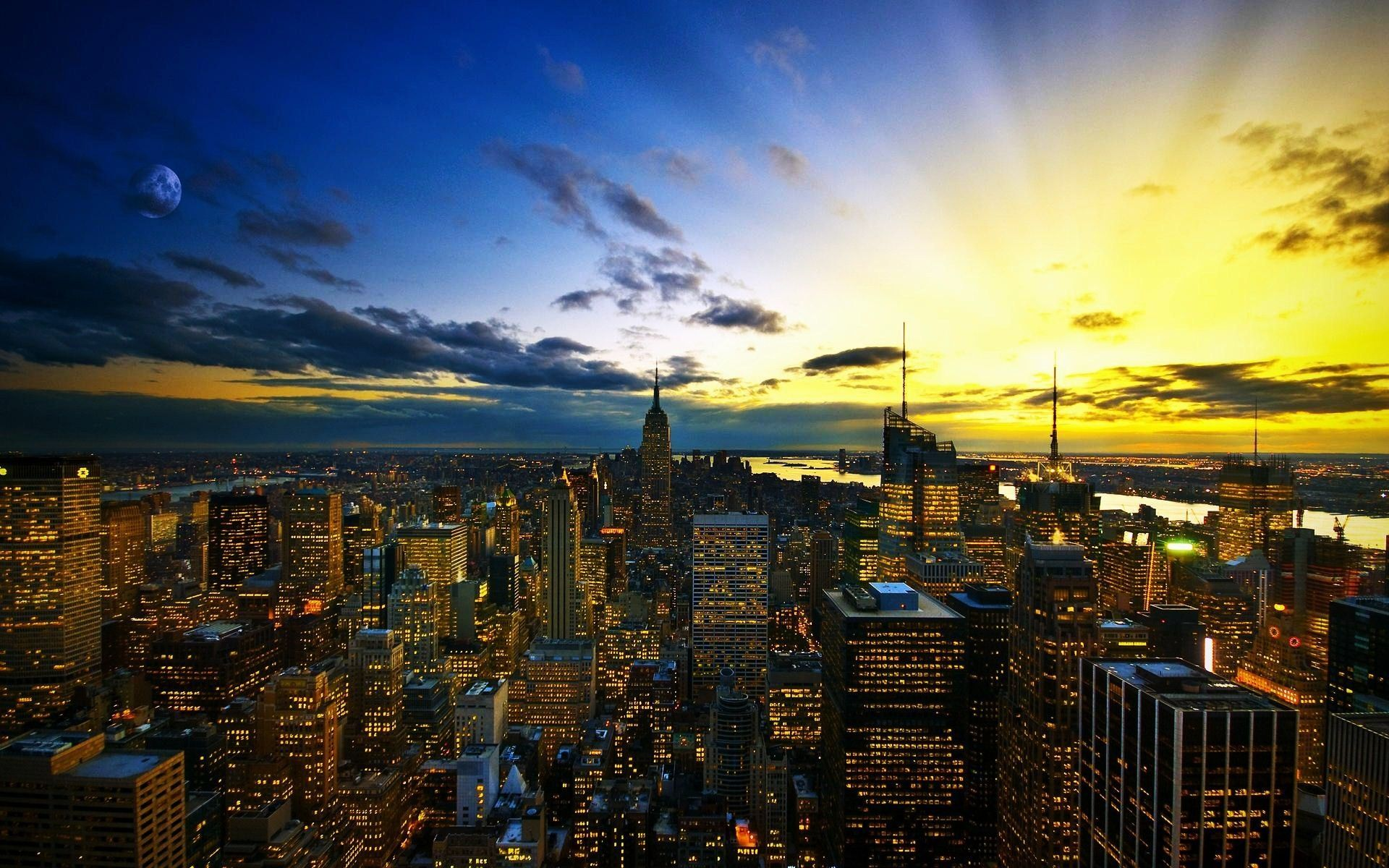 Wallpaper Of New York City Skyline