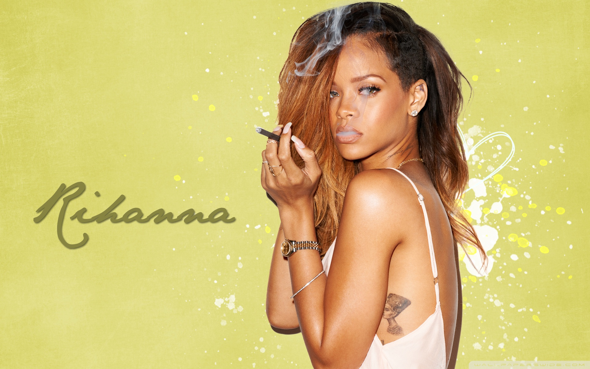 Wallpaper Of Rihanna