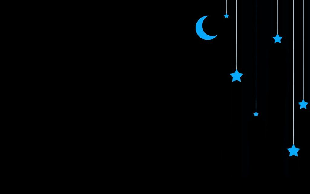 Wallpaper Of Stars And Moon