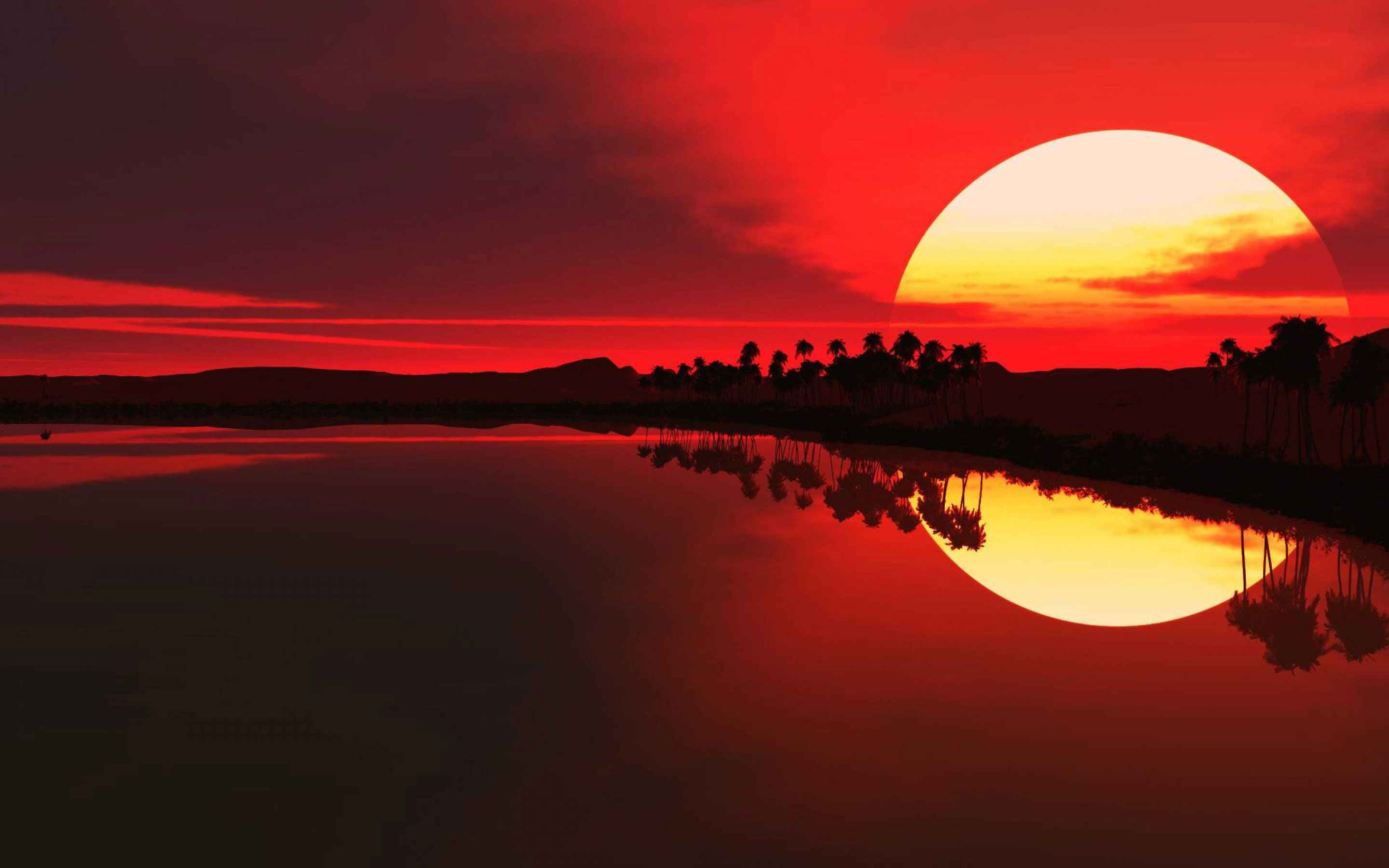 Wallpaper Of Sunset