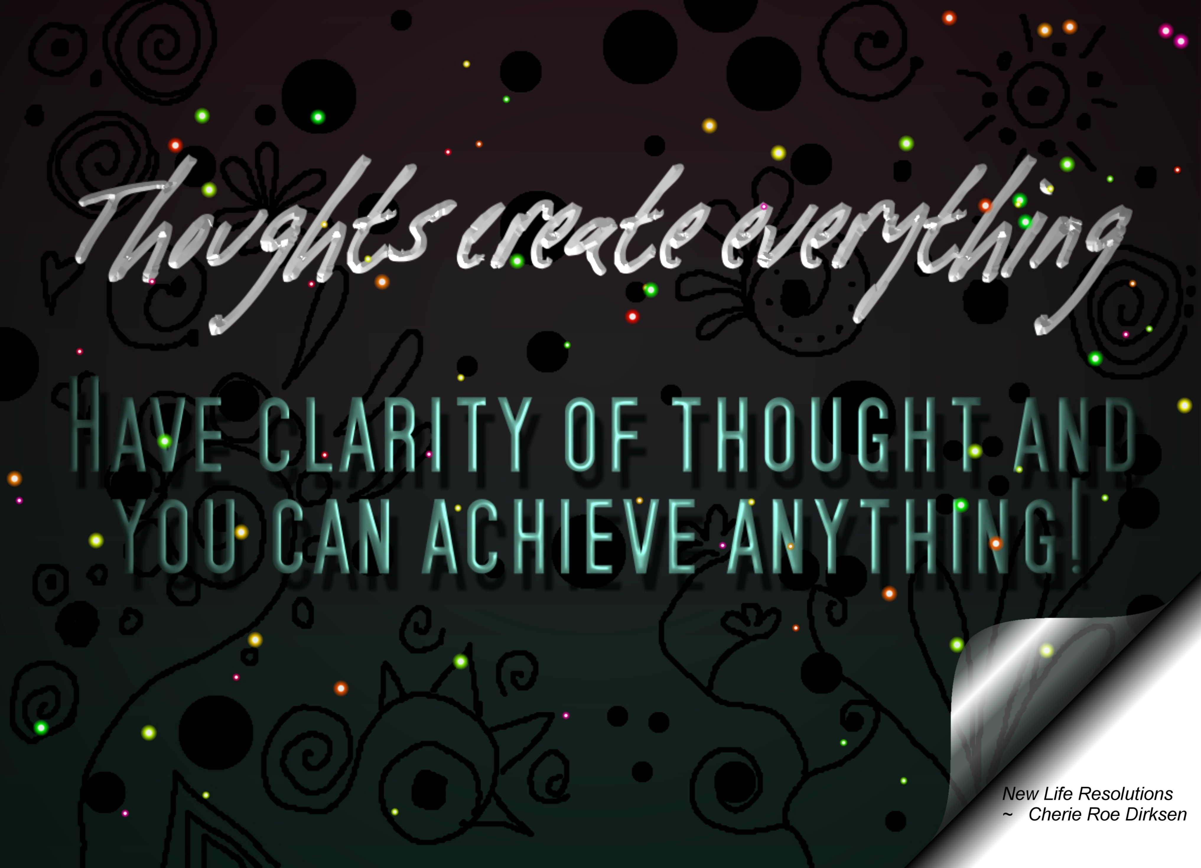 Wallpaper Of Thought Of Life