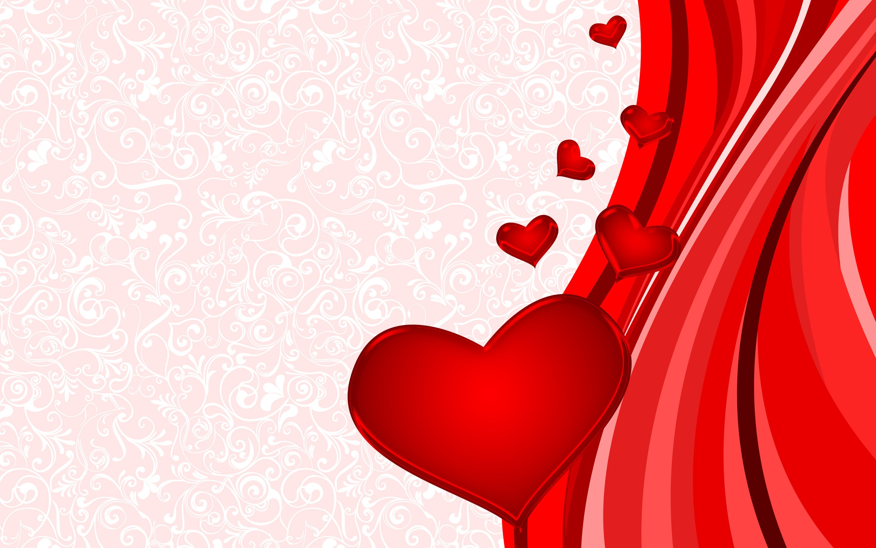 Wallpaper Of Valentines Day Hearts