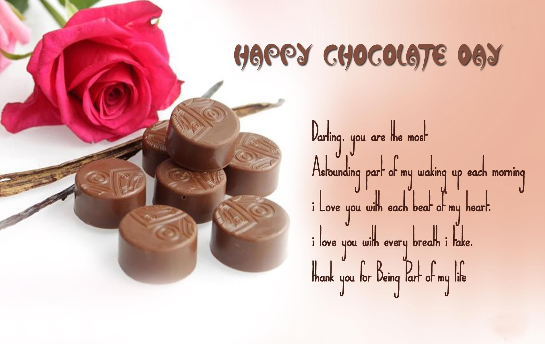 Wallpaper On Chocolate Day