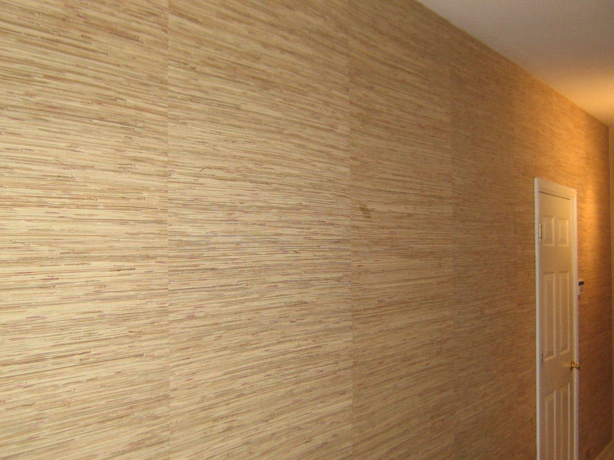 Wallpaper Over Plywood