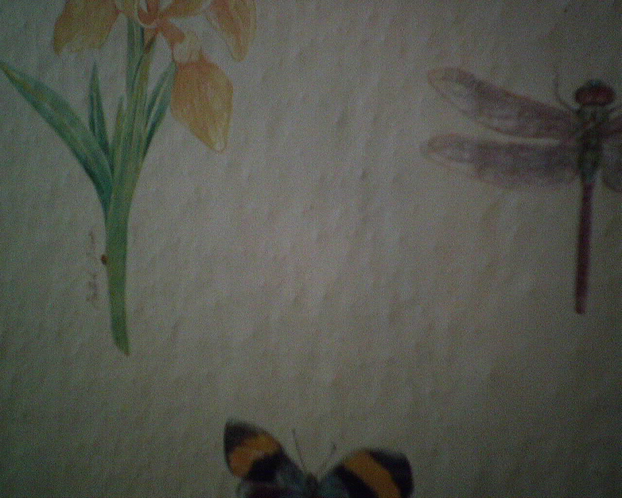 Wallpaper Over Textured Walls
