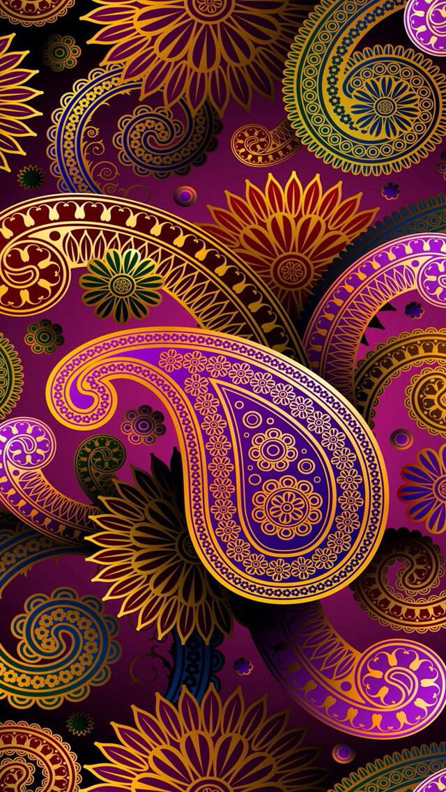 Wallpaper Paisley