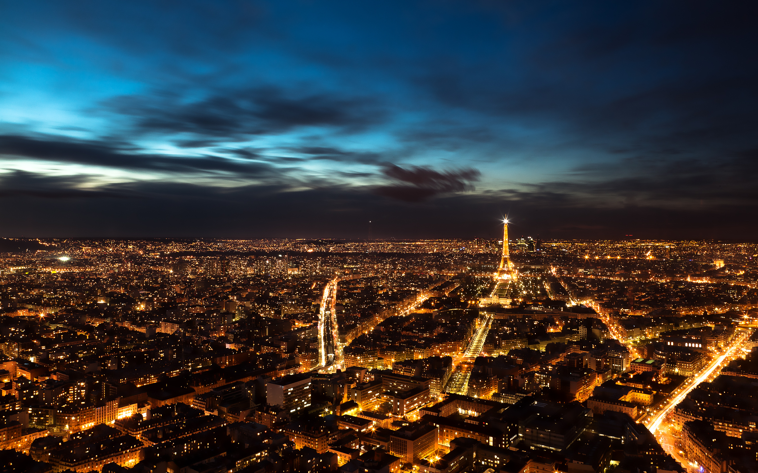 Wallpaper Paris Night