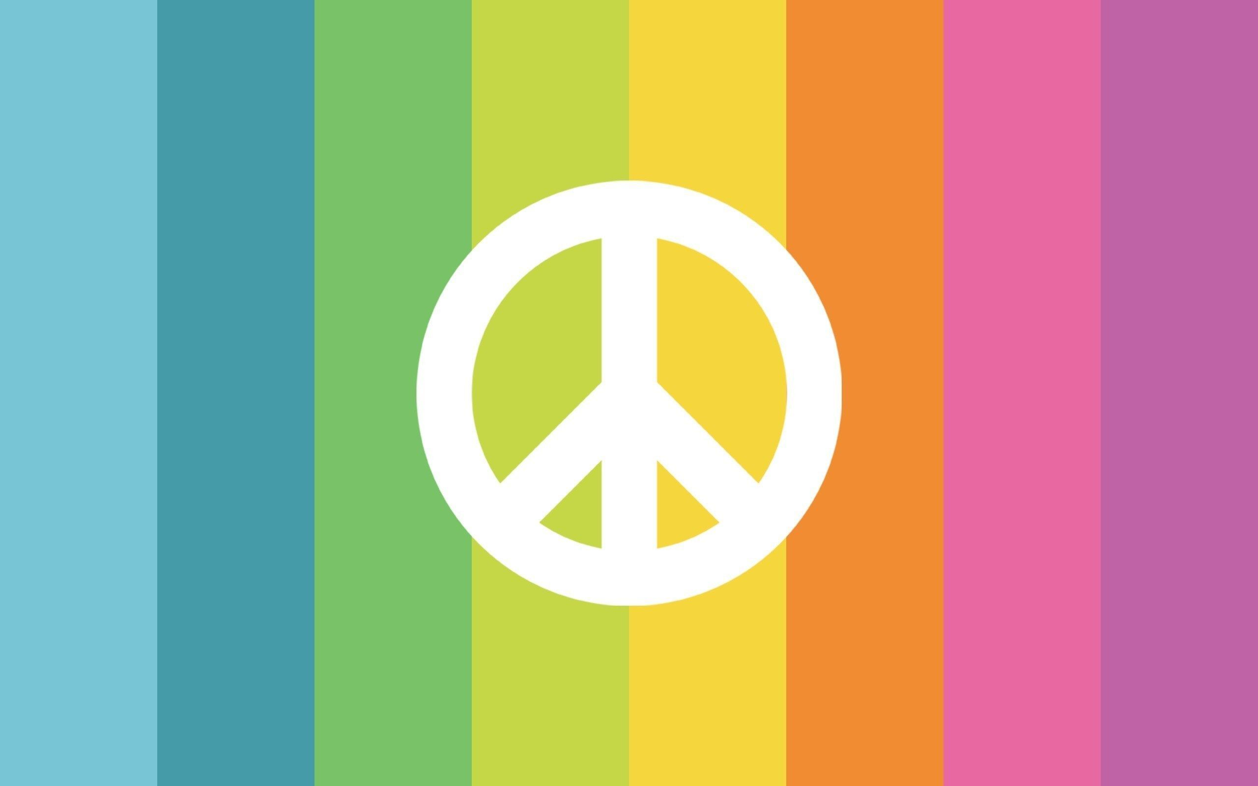 Wallpaper Peace And Love