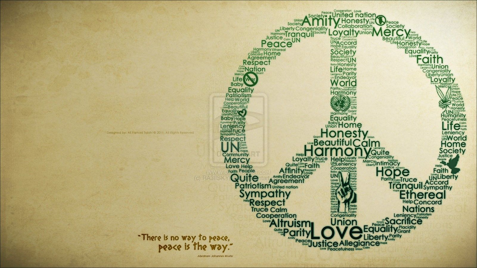 Wallpaper Peace
