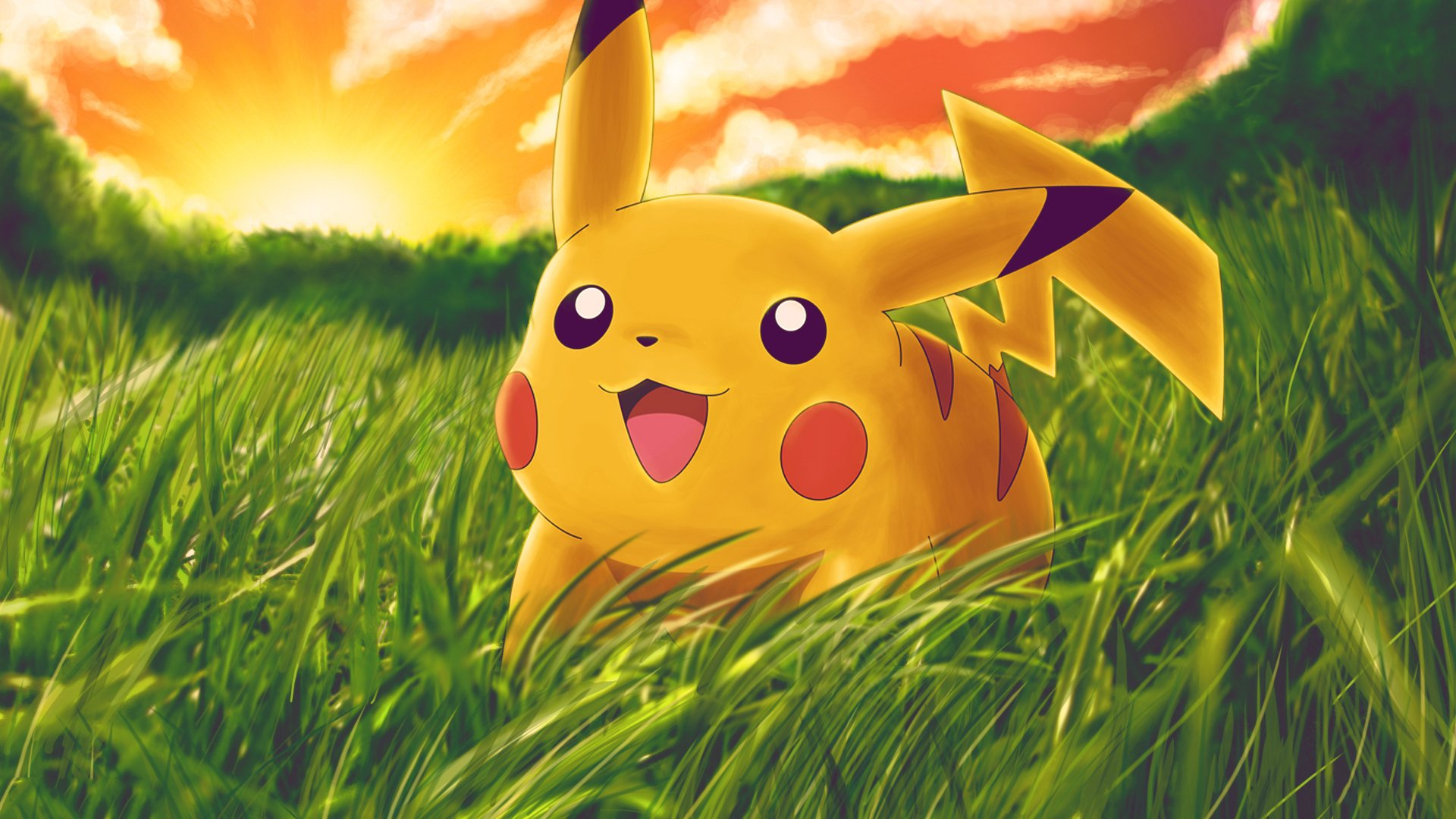 Wallpaper Pikachu
