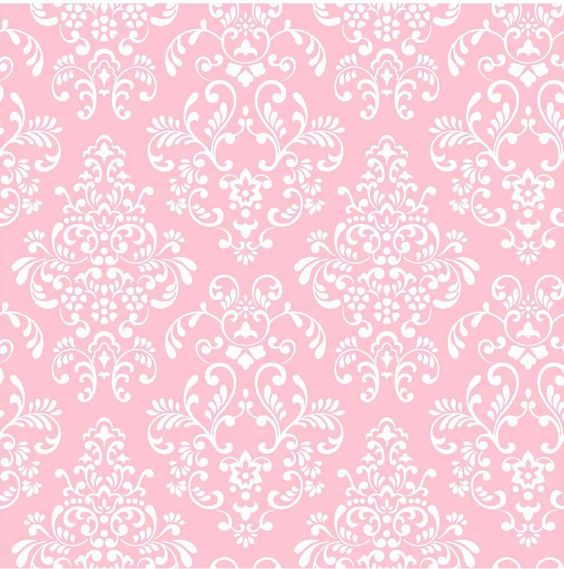 Wallpaper Pink Damask