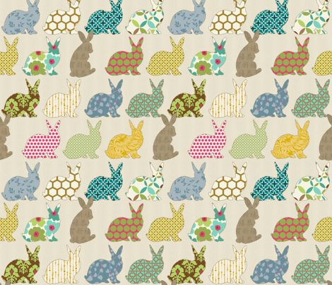 Wallpaper Rabbit Design