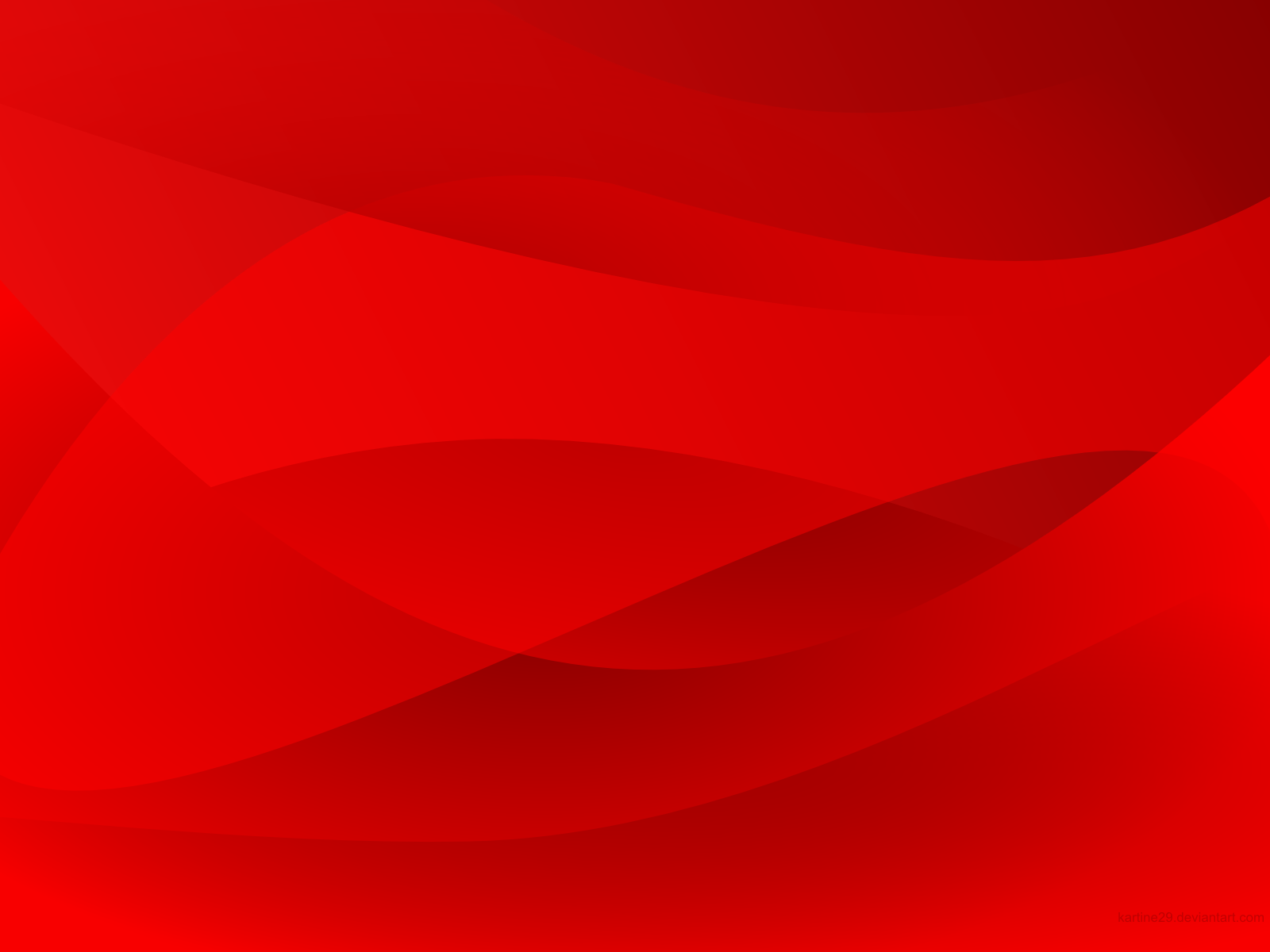 Wallpaper Red Abstract