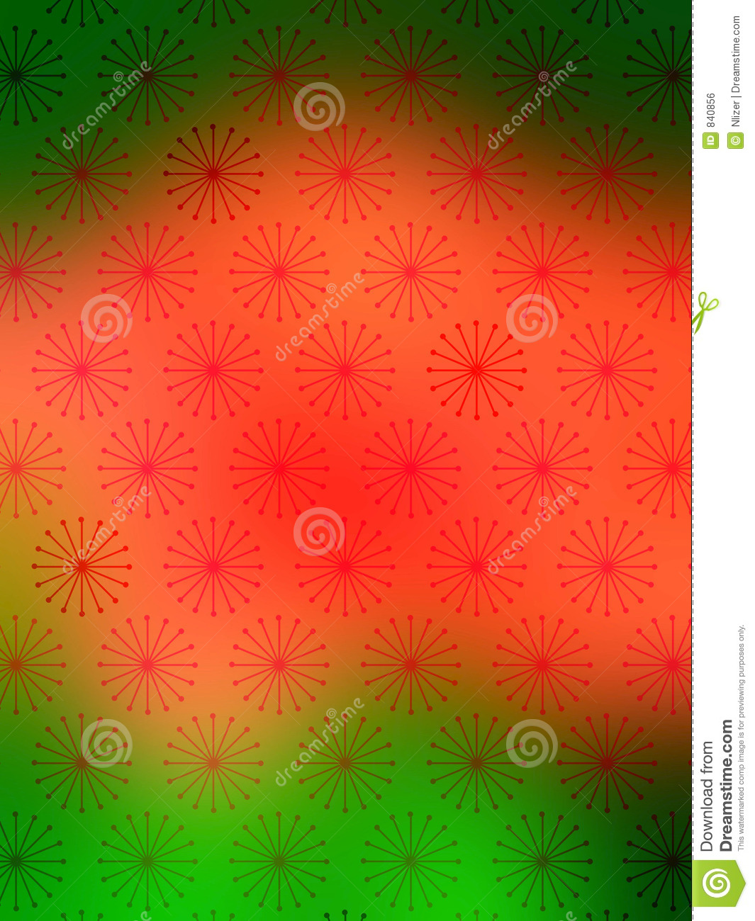 Wallpaper Red Green