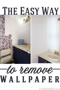 Wallpaper Removal Recipe