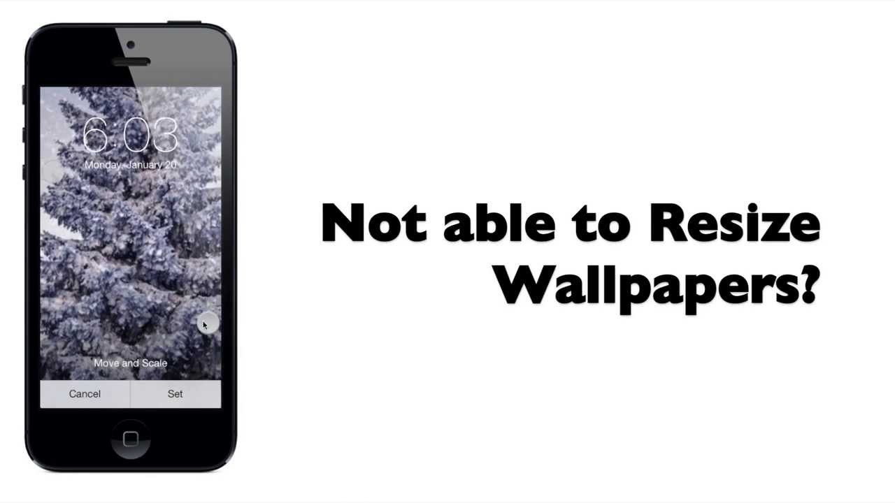 Wallpaper Resize App
