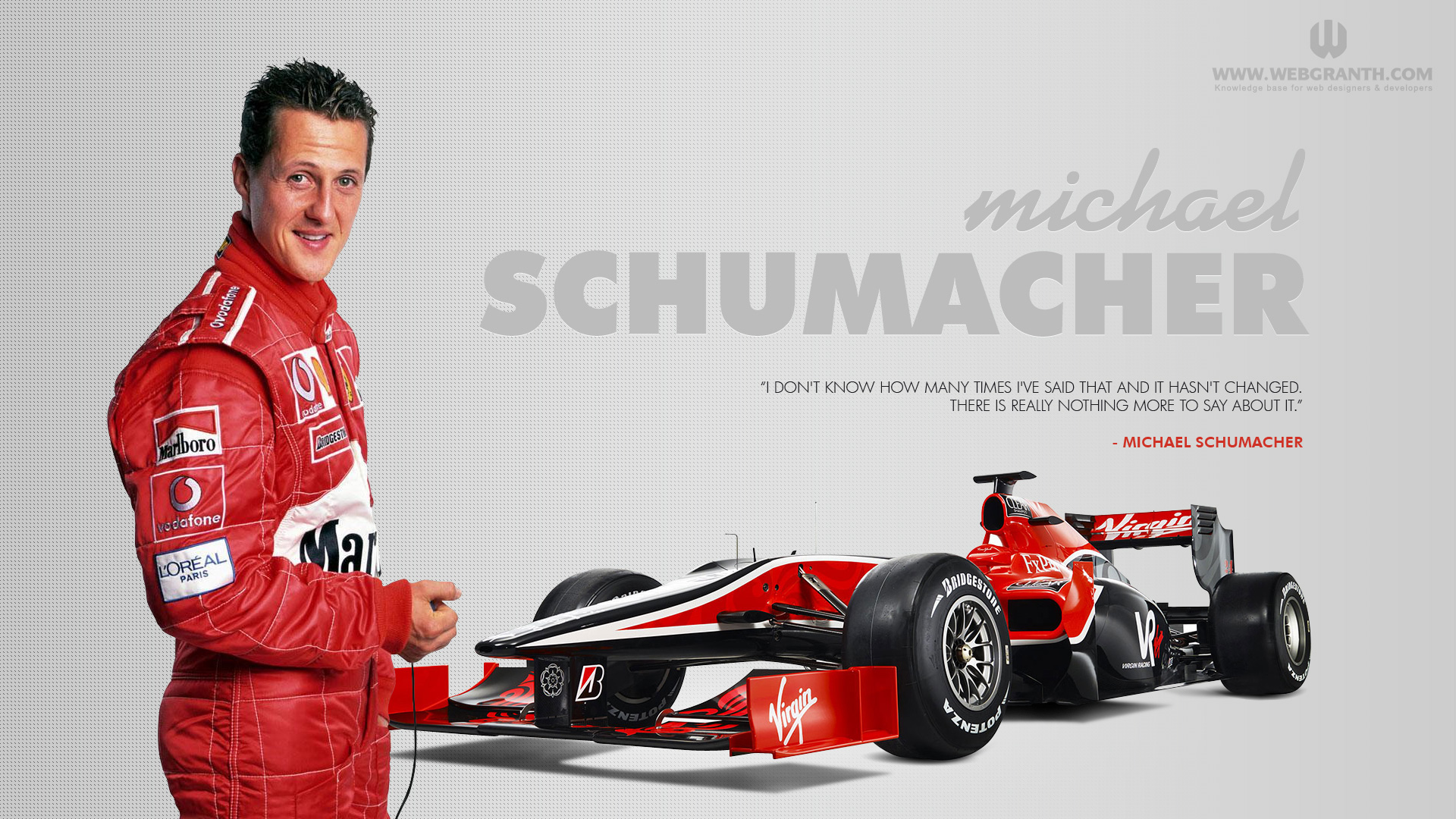 Wallpaper Schumacher
