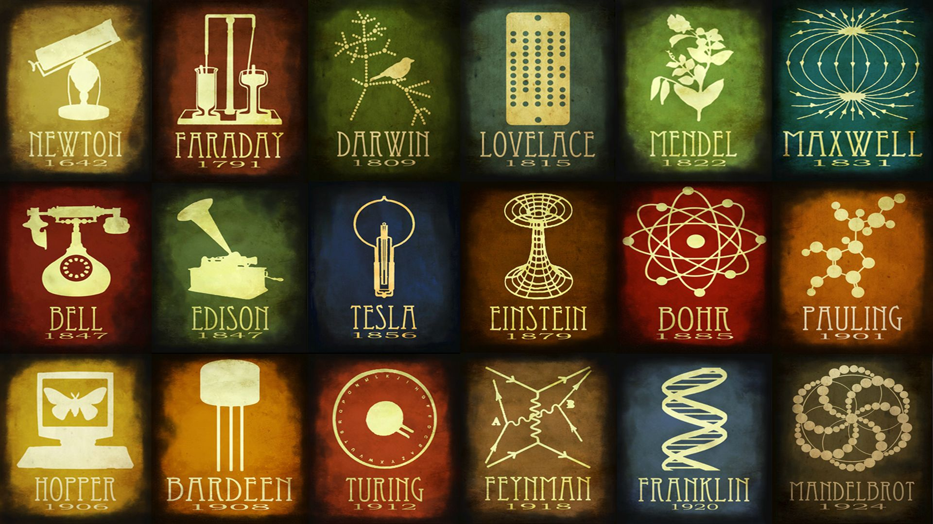 Wallpaper Scientific