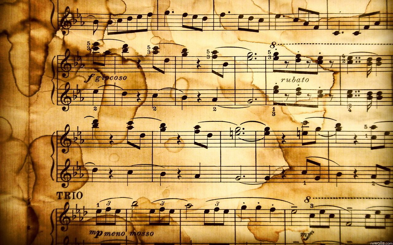 Wallpaper Sheet Music
