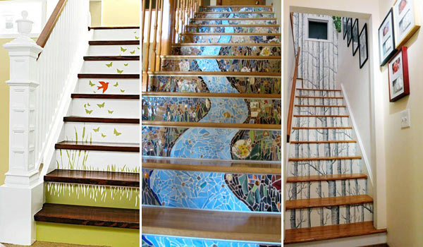 Wallpaper Stairs Ideas