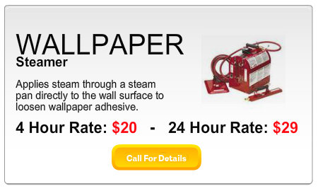 Wallpaper Steamer Rental