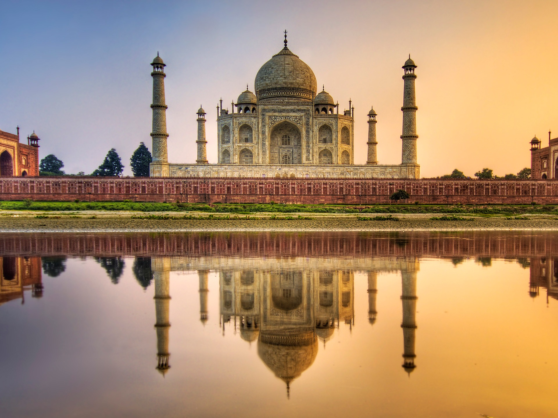 Wallpaper Taj Mahal Free Download