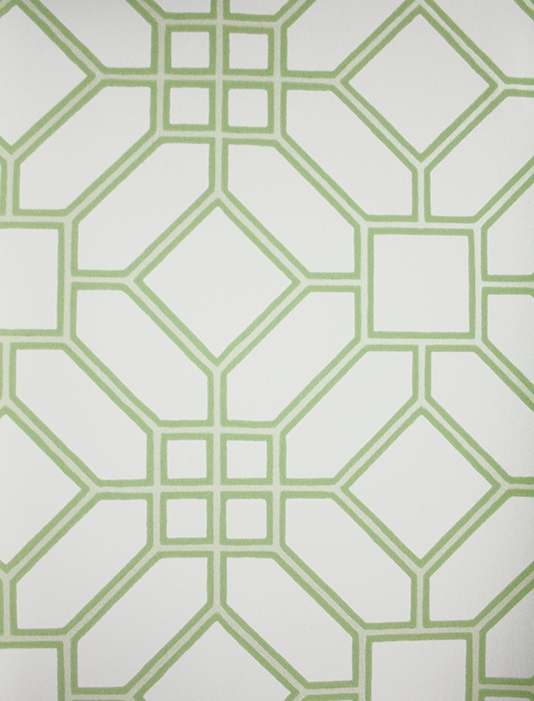 Wallpaper trellis design