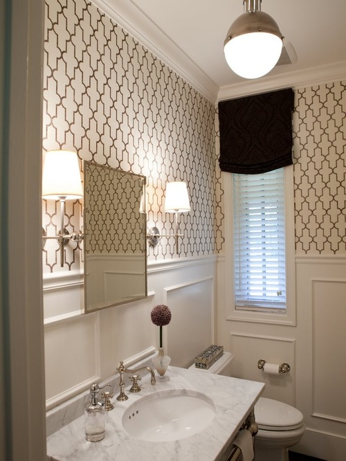 Wallpaper Wainscoting