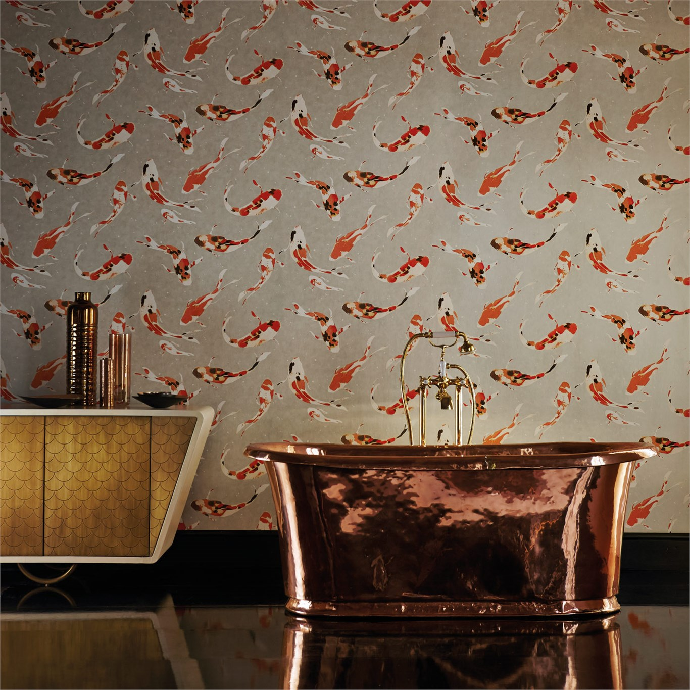 Wallpaper With Fish On It For Walls